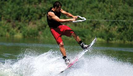Wakeboarding near Bryson Hesperia Resort